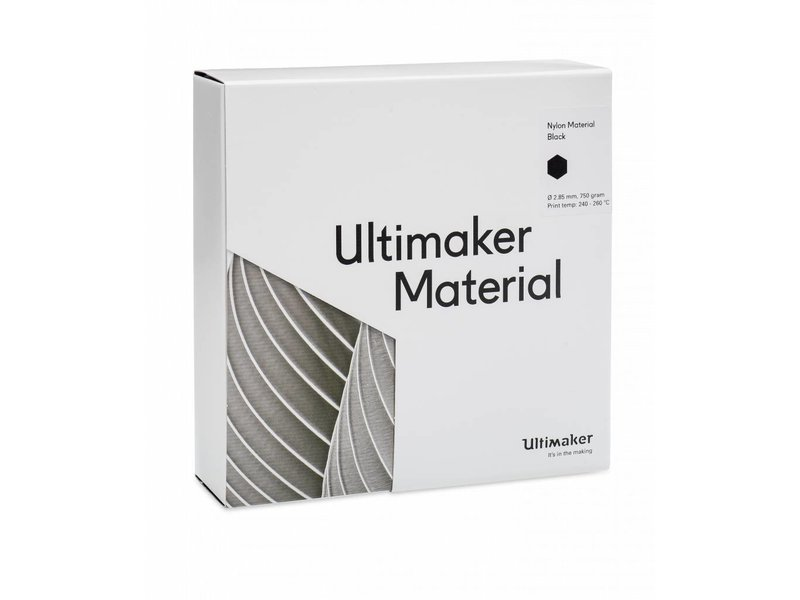Ultimaker Nylon 750gr (NFC) 2.85mm Black