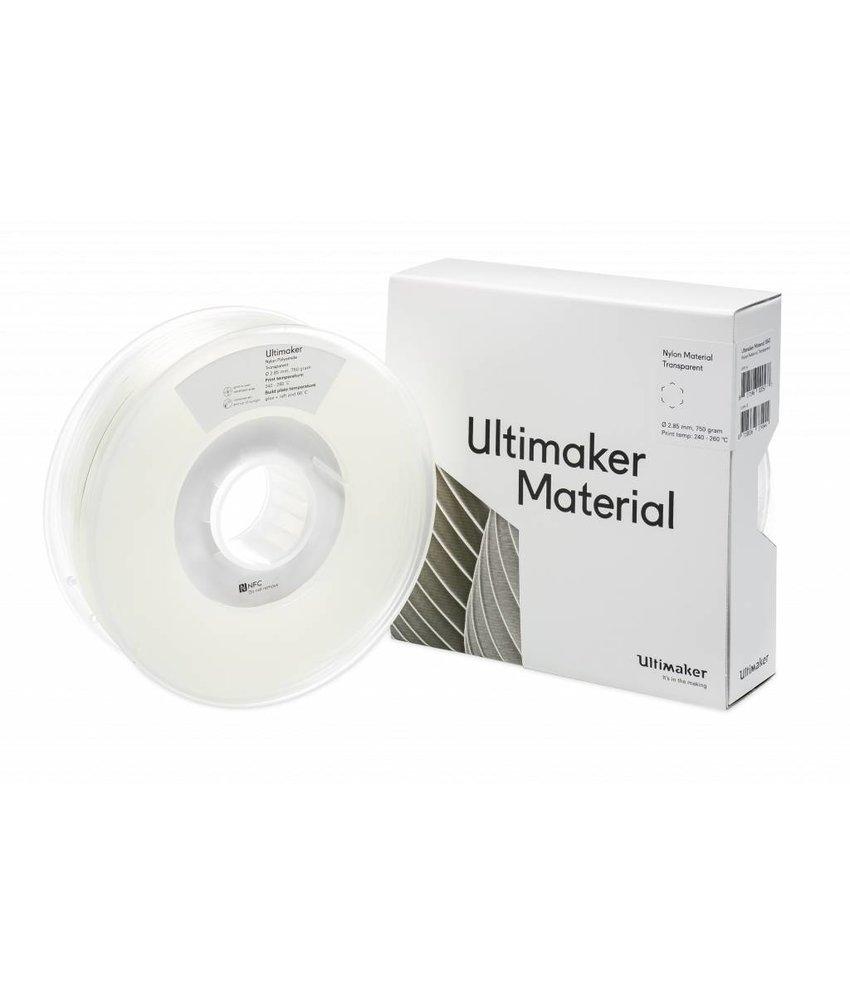 Ultimaker Nylon 750gr (NFC) 2.85mm Transparent