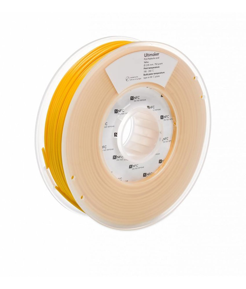 Ultimaker PLA 750gr (NFC) 2.85mm Yellow