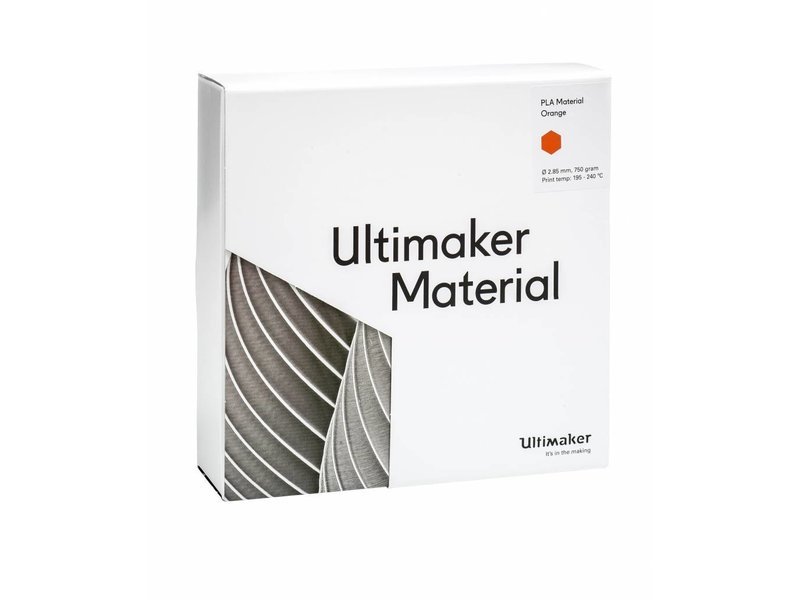 Ultimaker PLA 750gr (NFC) 2.85mm Orange