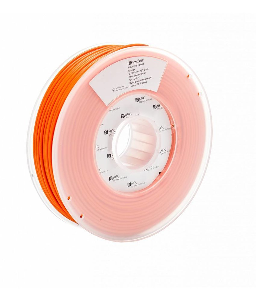 Ultimaker PLA 750gr (NFC) 2.85mm Orange