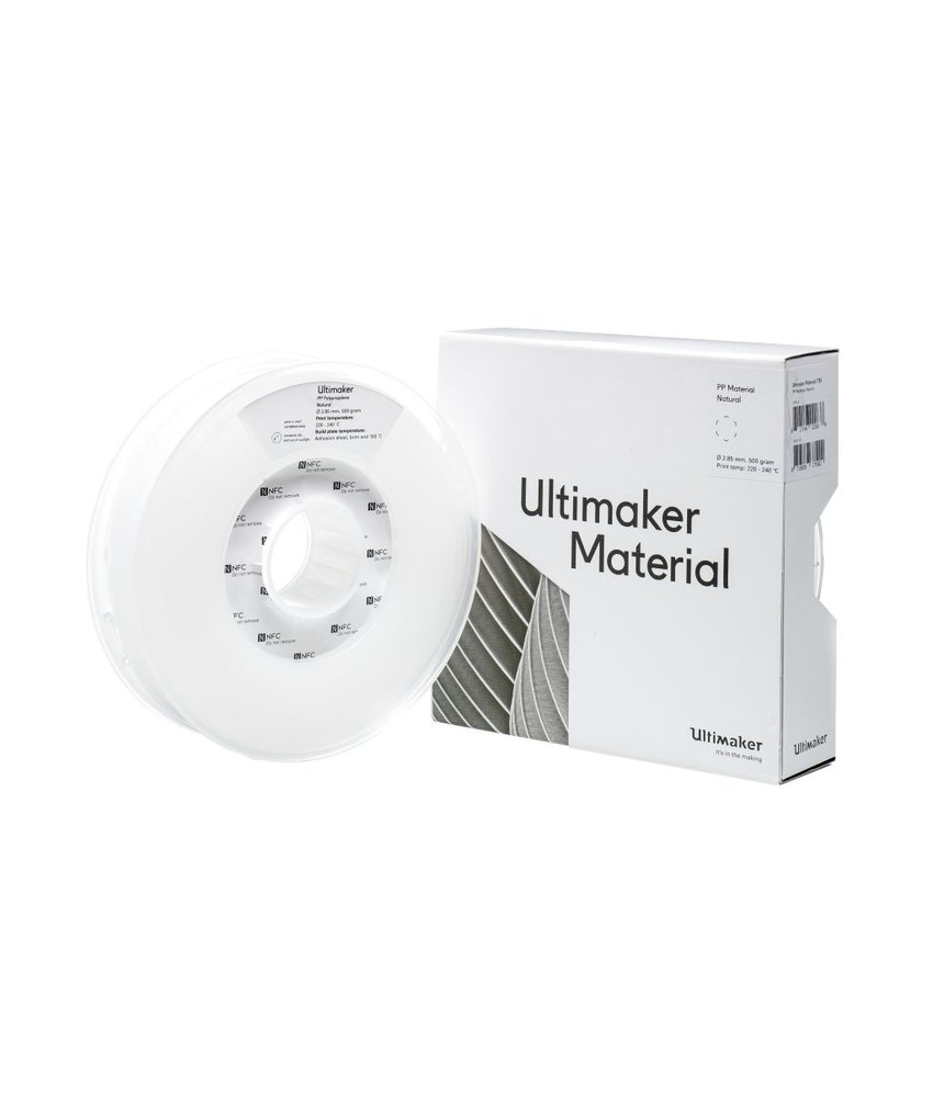 Ultimaker PP 500gr (NFC) 2.85mm Natural