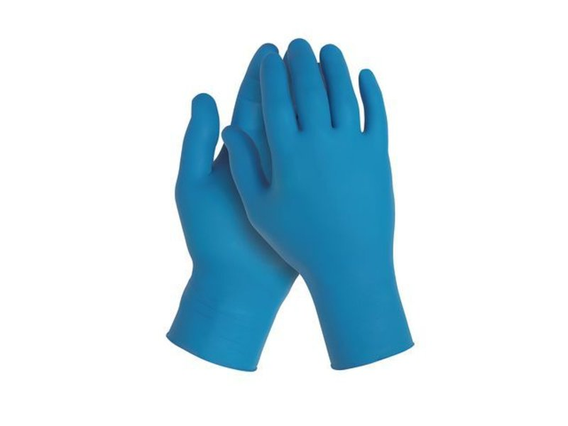 Kimberly-Clark KleenGuard G10 Flex Nitrile Gloves Blue, Size L (100pcs)