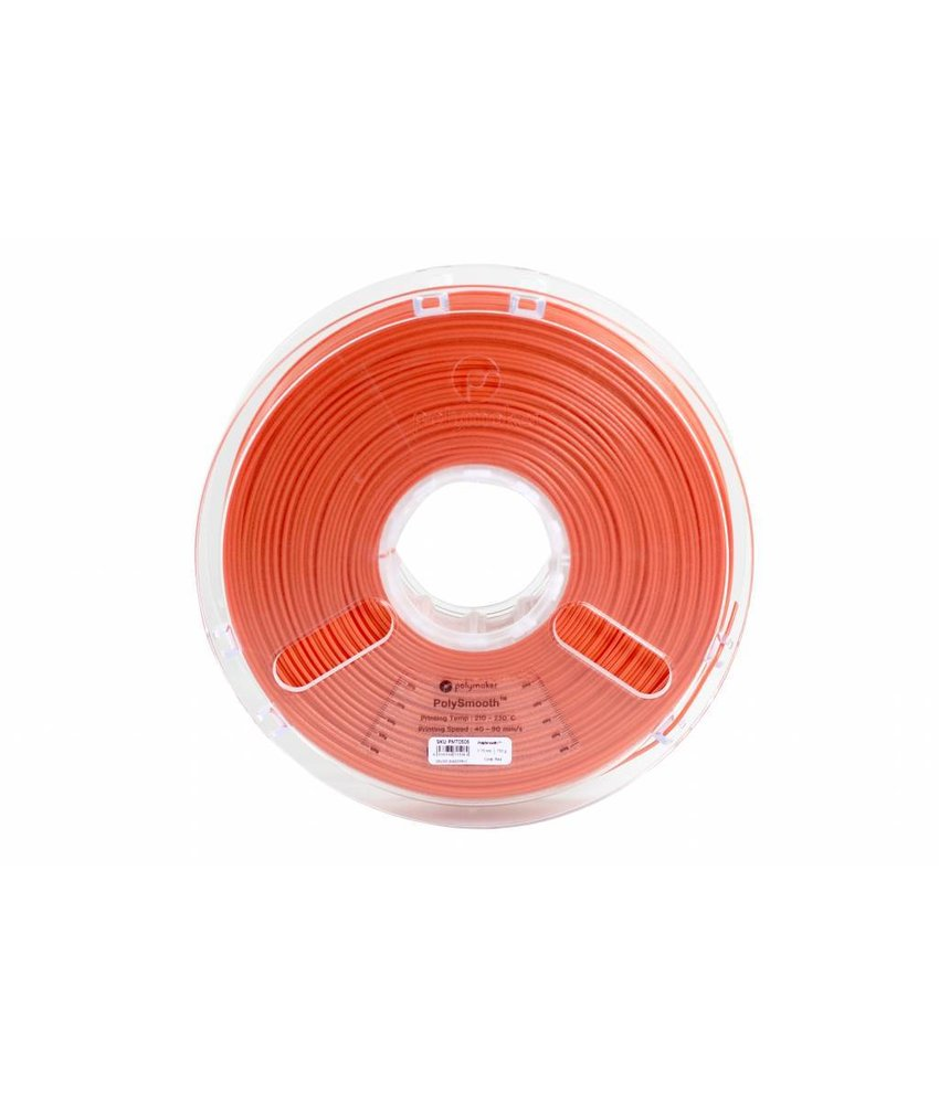 Polymaker PolySmooth 750gr Coral Red