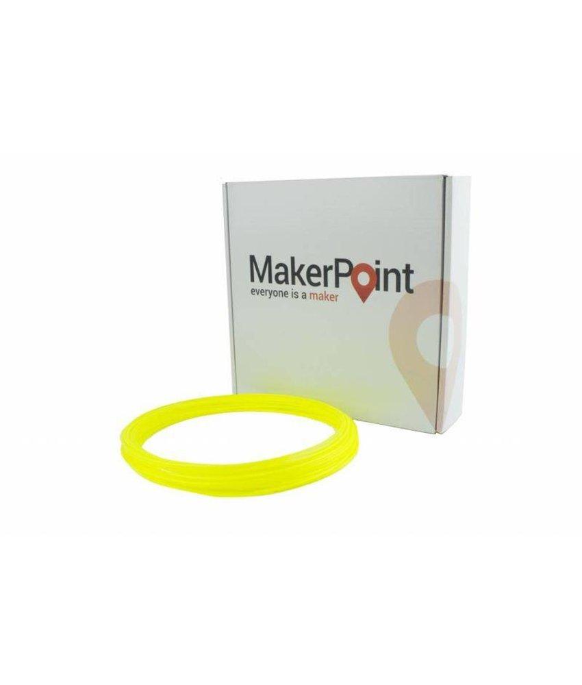MakerPoint ABS 750gr Yellow Fluor
