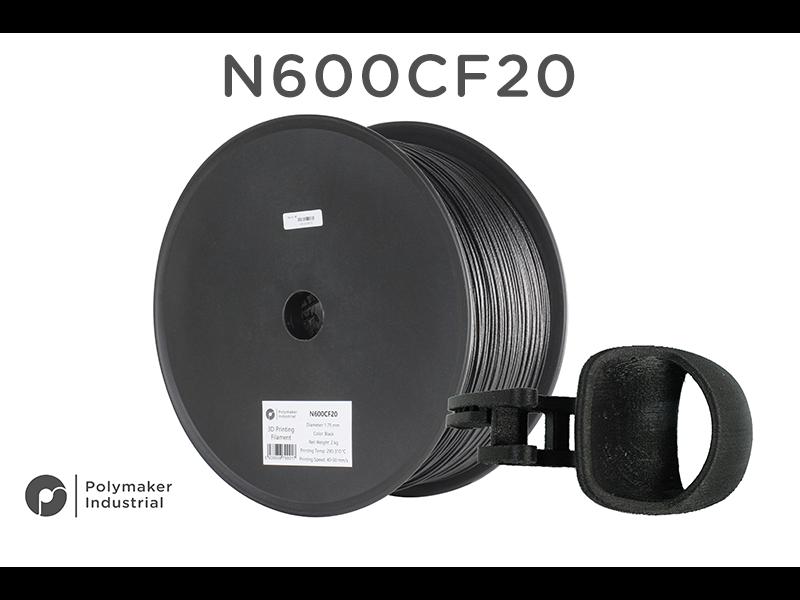 Polymaker N600CF20 PA6 Black 2kg