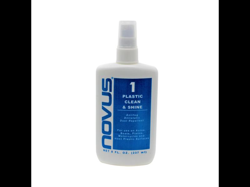 Novus Plastic Polish #1 - 8oz bottle
