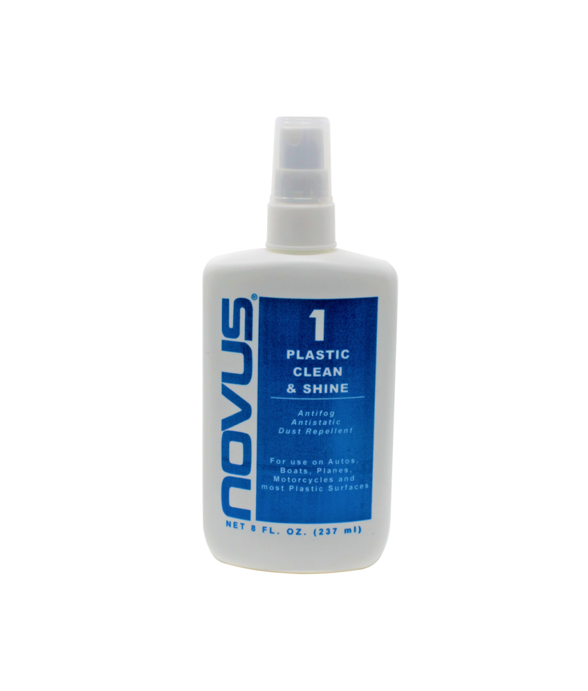 Novus Plastic Polish #1 - 8oz bottle
