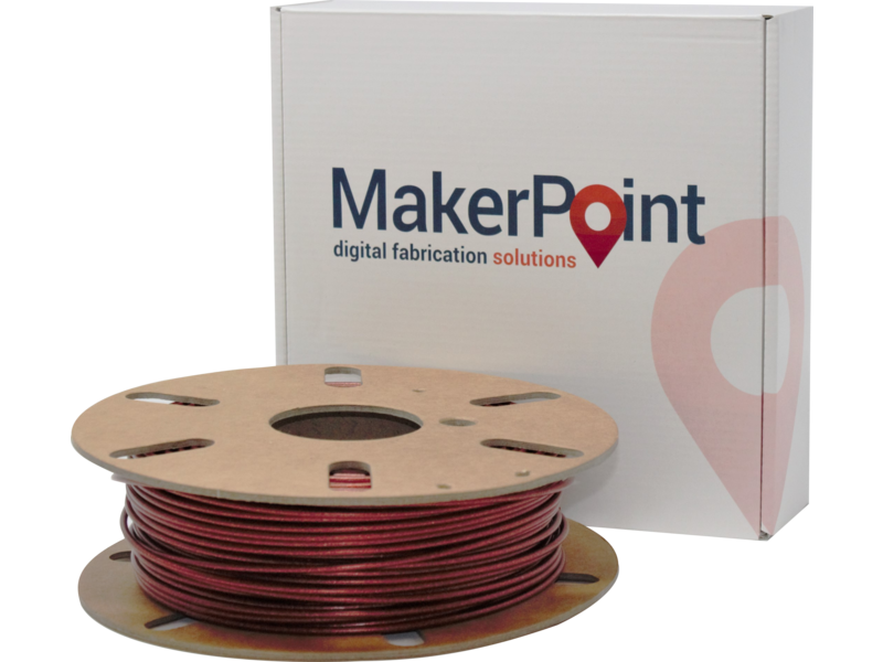 MakerPoint PLA 750gr Red Glitter