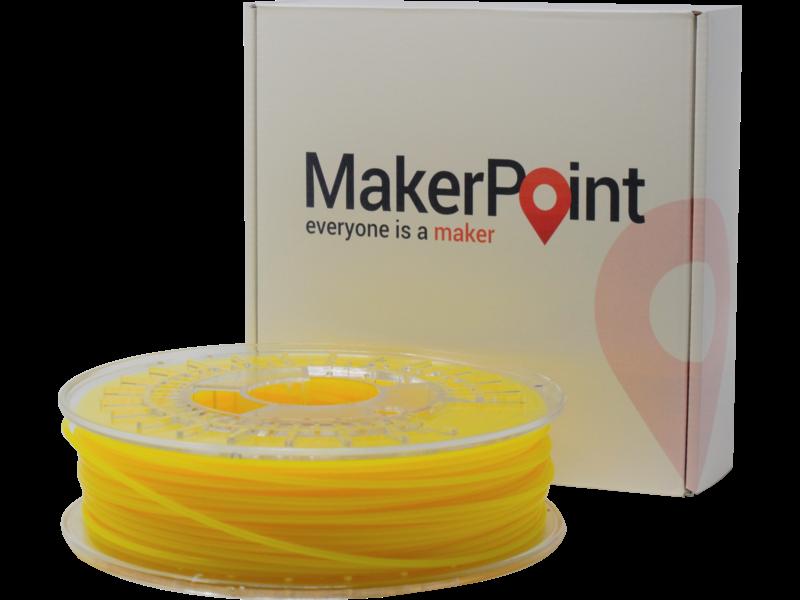 MakerPoint PLA 750gr Yellow Fluor