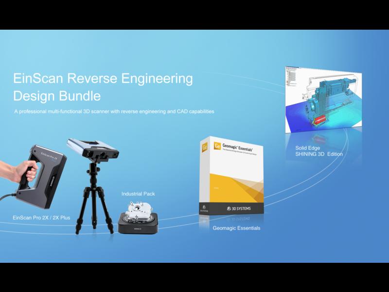 Shining 3D EinScan Pro 2X Series Reverse Enginering Design Bundle
