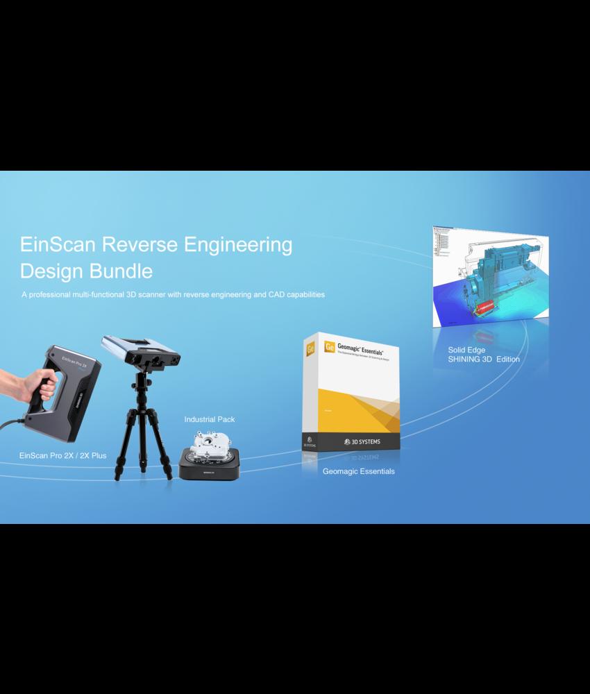 Shining 3D EinScan Pro 2X Series RED Bundle
