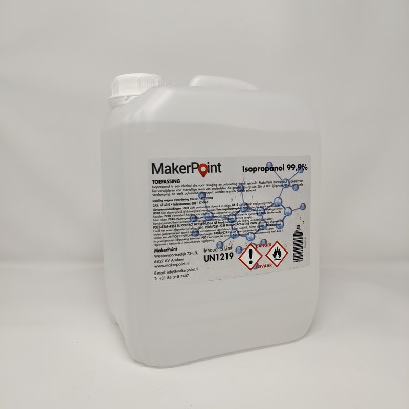 MakerPoint Isopropanol 99,9% 5L