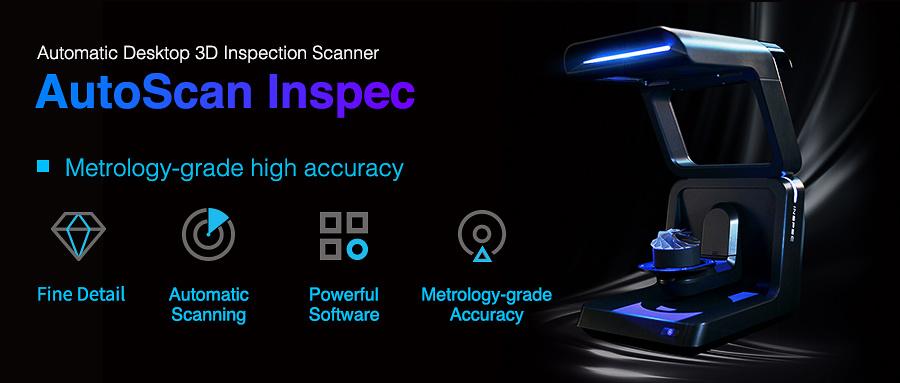 Nieuw: Autoscan Inspec 3D Scanner van Shining 3D