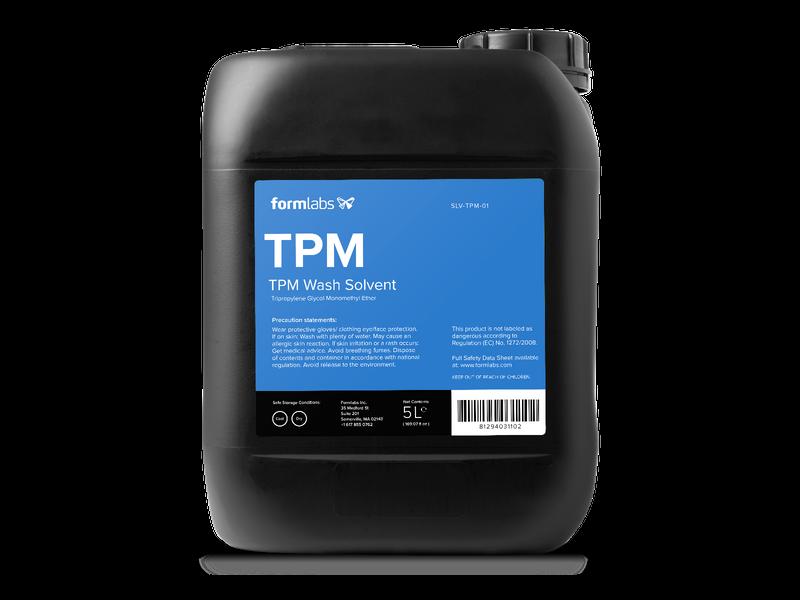 SLA prints cleanen met TPM
