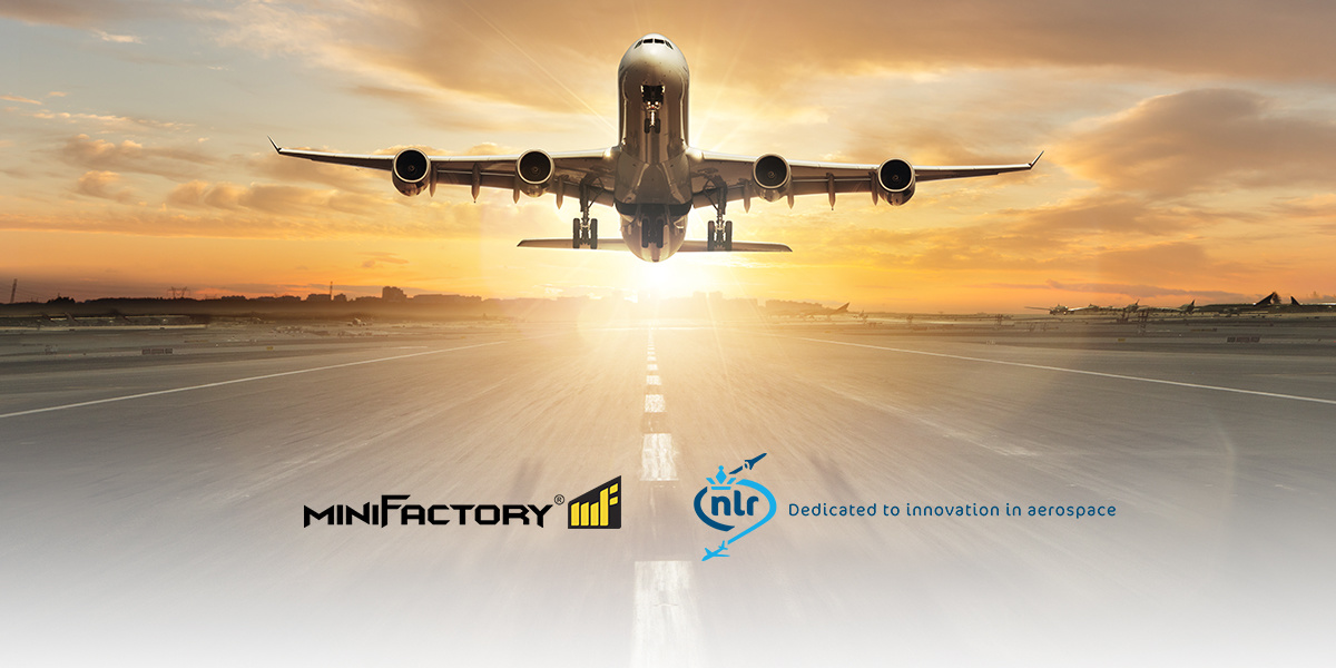 Additive manufacturing in the Royal Netherlands Aerospace Center with the miniFactory Ultra