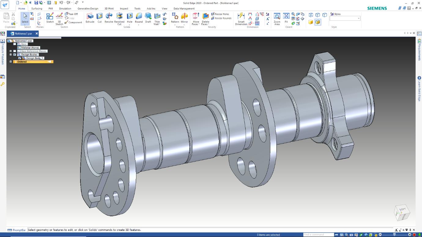 Step 3: Improving CAD file