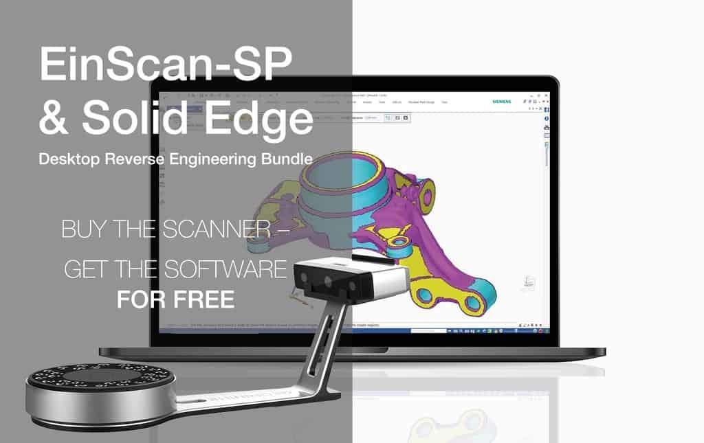 Shining3D EinScan SP & SE scanners actie en updates!