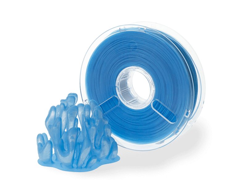 Polymaker PolyPlus™ PLA 750gr Translucent Blue
