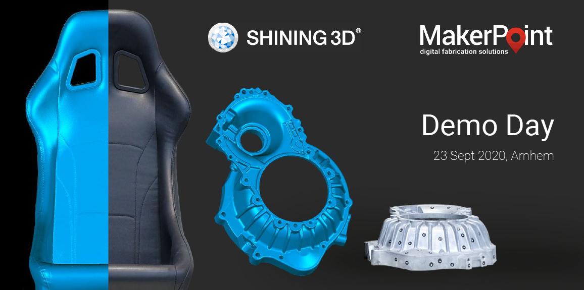 3D Scanning Demo Day met Shining 3D