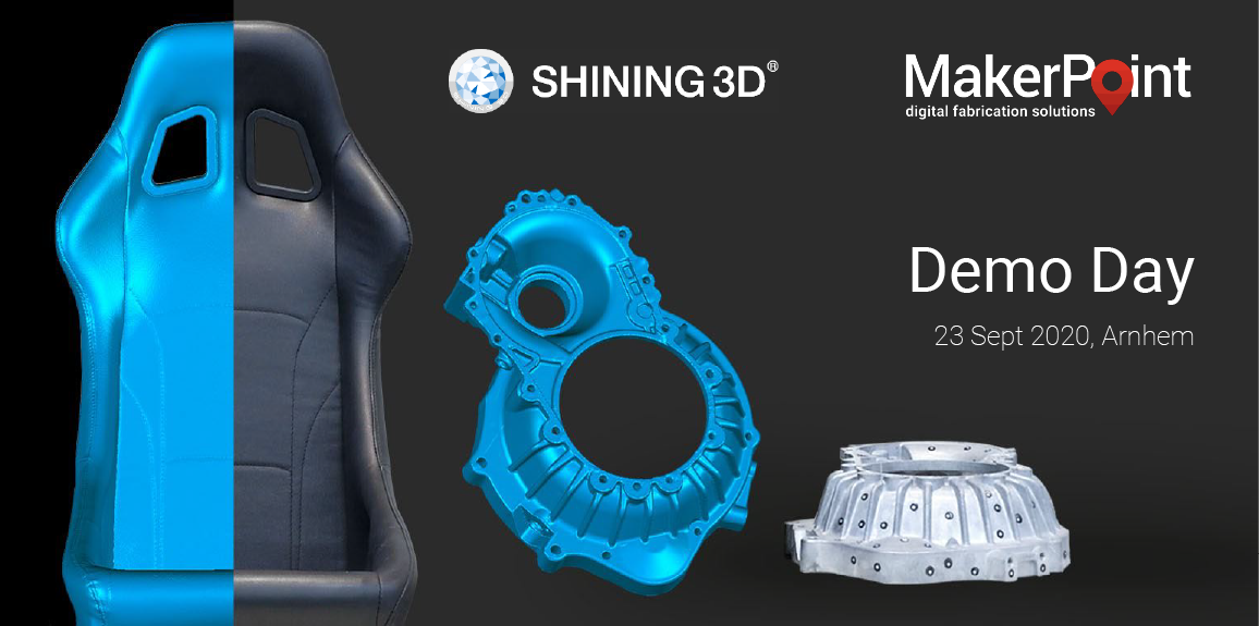 3D Scanning Demo Day with Shining 3D
