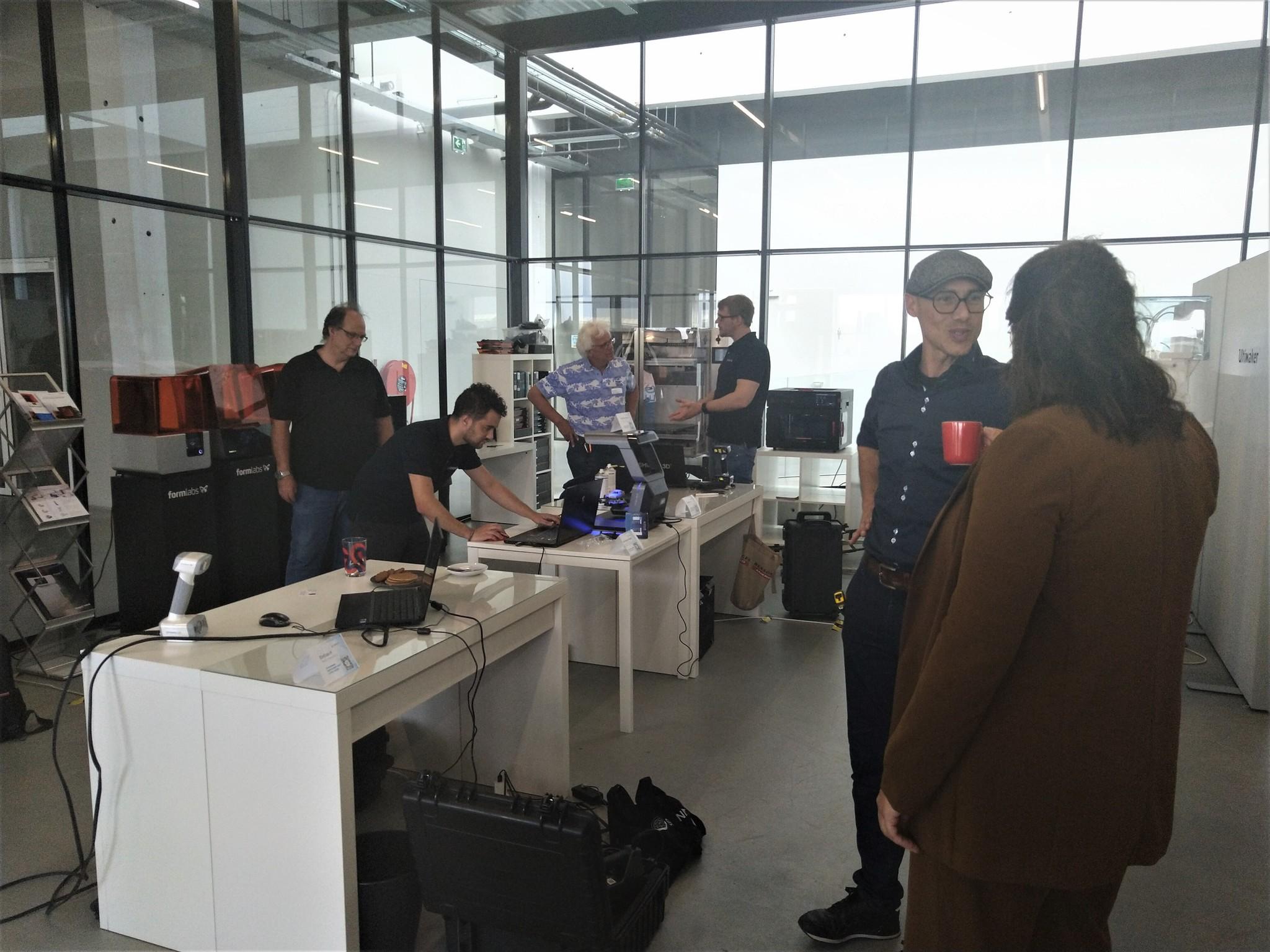 3D Scanning Demo Day terugblik: veel verschillende toepassingen mogelijk