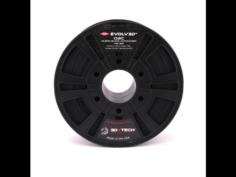 3DXTech Evolv3D™ OBC (Polyethylene Copolymer) Black