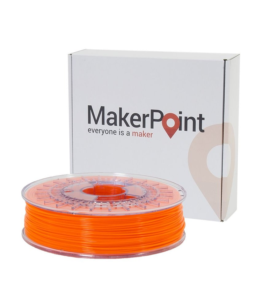 MakerPoint PLA 750gr Orange Fluor