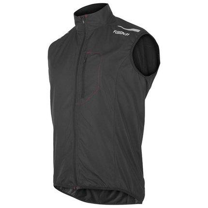 Fusion | S1 Run Vest | Black | Heren