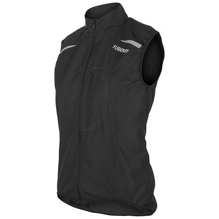 Fusion | S1 Run Vest | Black | Dames