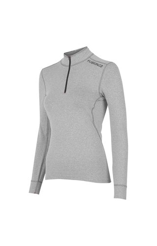 Fusion Fusion C3 Zip Neck Grey Dames