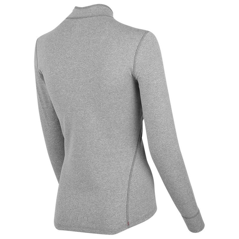 FUSION Fusion | C3 Zip Neck | Grey | Dames