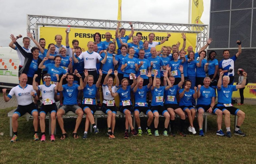 Aegon medewerkers schitteren in Fusion tijdens de 010 Triathlon voor het Alzheimerfonds