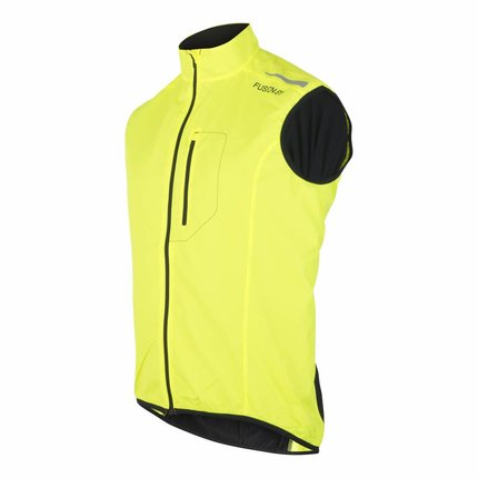 Fusion | S1 Run Vest | Yellow | Heren
