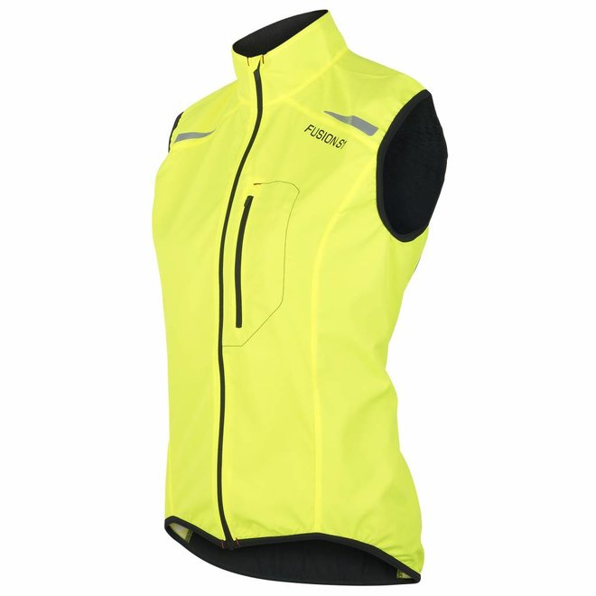 Fusion | S1 Run Vest | Yellow | Dames