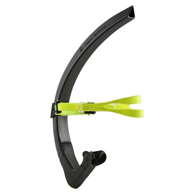 Michael Phelps | Focus Training Snorkel | Zwart/Geel