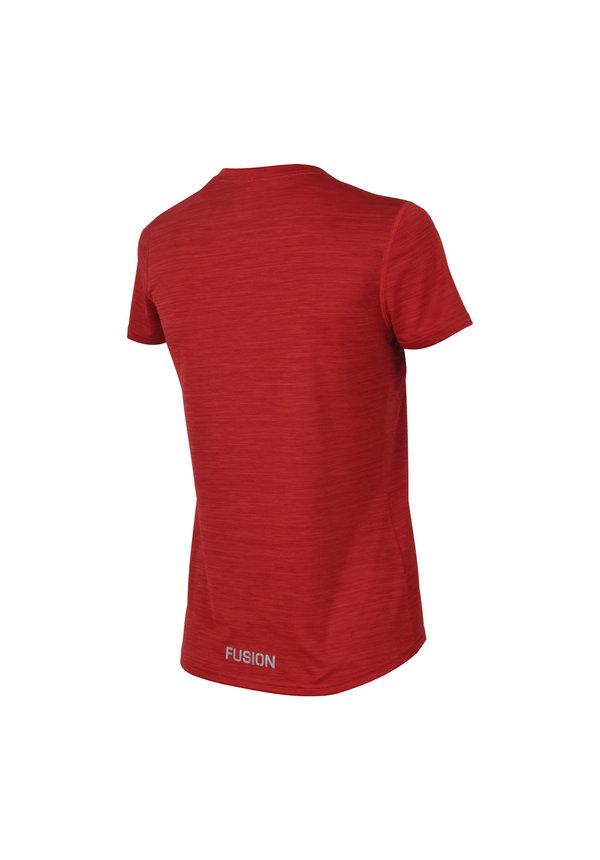 Fusion C3 T-shirt - Rood - Dames