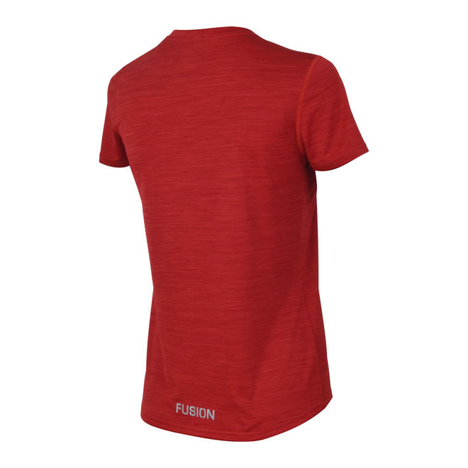 Fusion | C3 T-shirt | Red | Dames