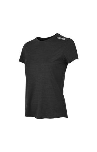 Fusion Fusion C3 T-shirt - Zwart - Dames