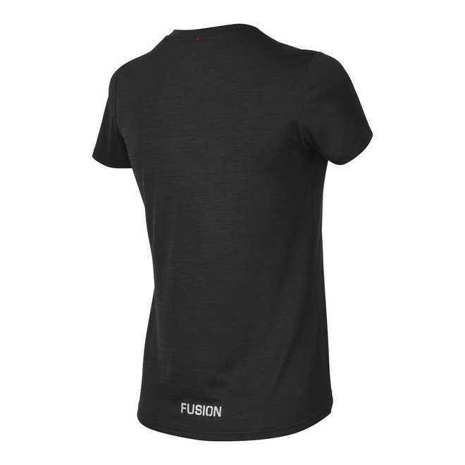 Fusion | C3 T-shirt | Black | Dames