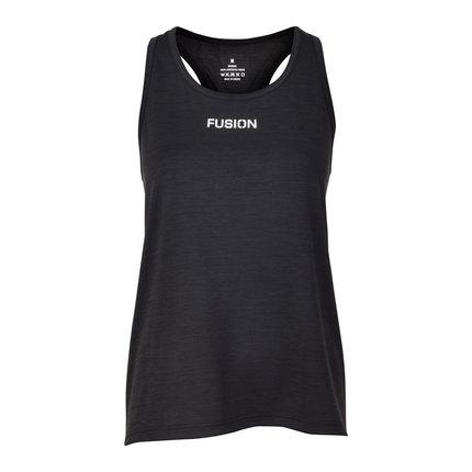 Fusion | C3  Training Top | Black | Dames