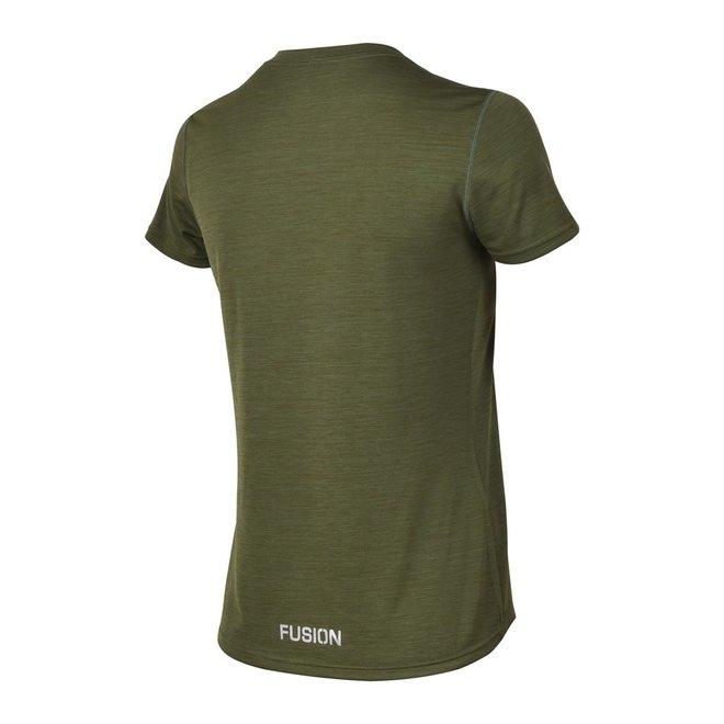 Fusion | C3 T-shirt | Green | Dames