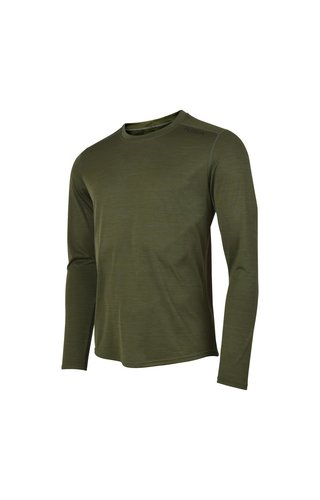 Fusion Fusion C3 Long Sleeve - Green - Heren