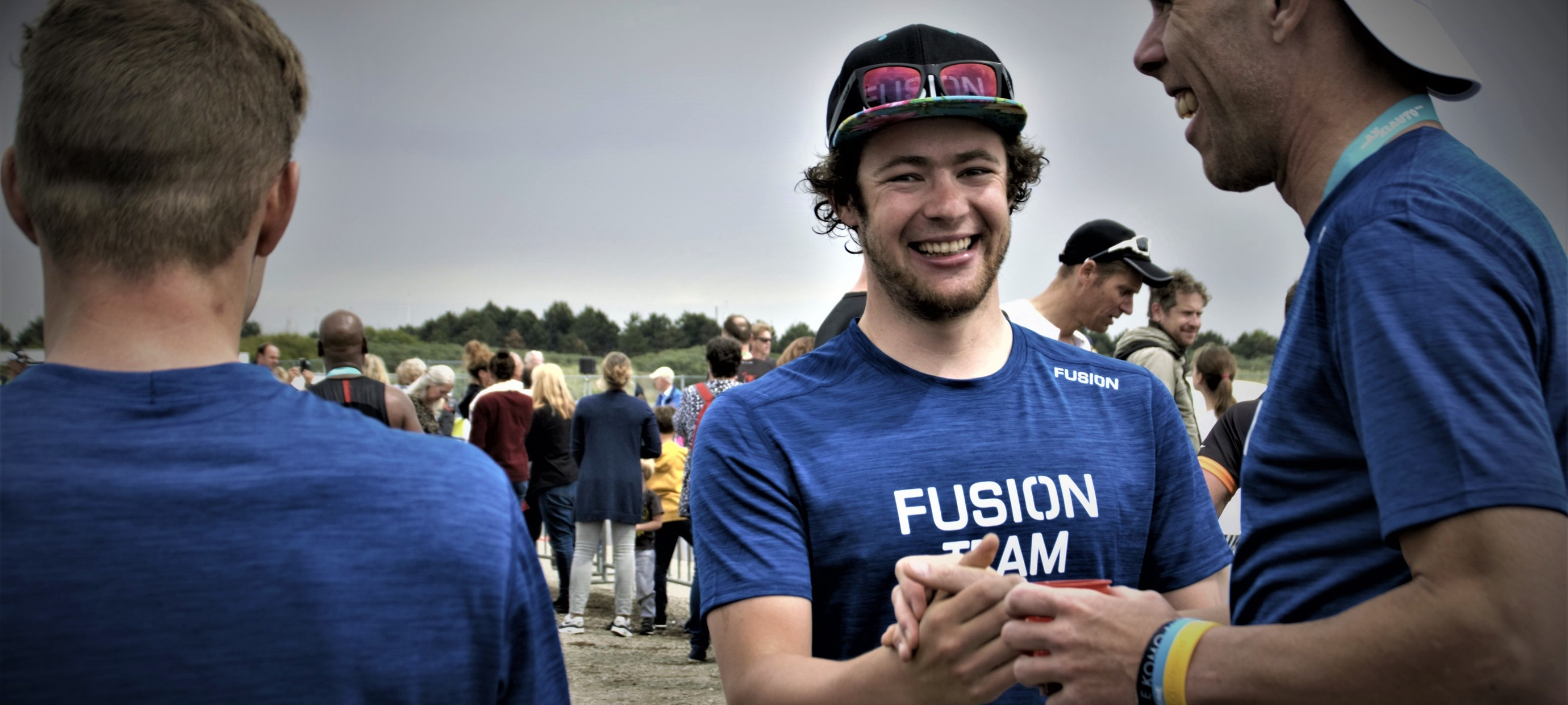 Thuiswinst FUSIONTEAM atleet Marco Akershoek | Triathlon Brouwersdam '90