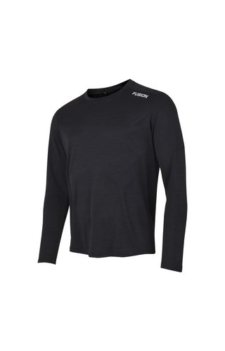 Fusion Fusion C3 Long Sleeve - Zwart - Heren