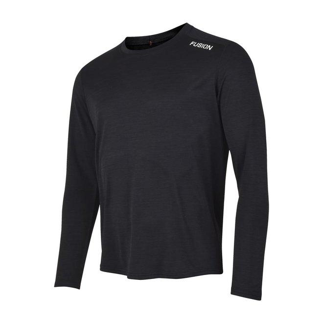 Fusion | C3 Long Sleeve | Black | Heren