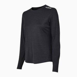 FUSION Fusion | C3 Long Sleeve | Black | Dames