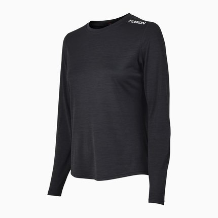 Fusion | C3 Long Sleeve | Black | Dames
