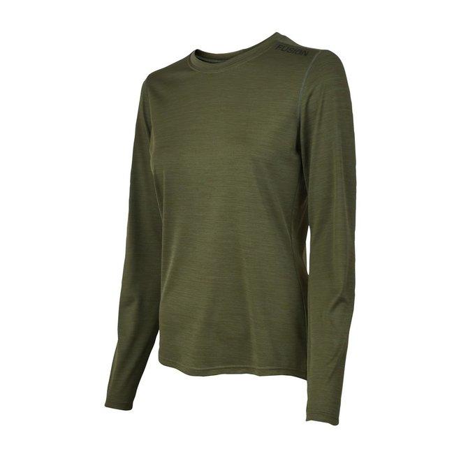 Fusion | C3 Long Sleeve | Green | Dames