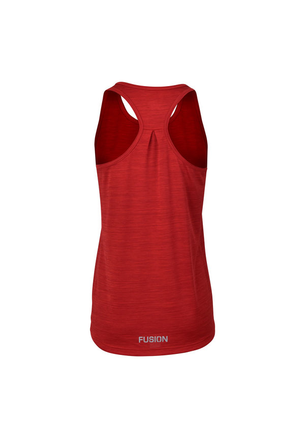 FUSION C3  TRAINING TOP - RED - DAMES
